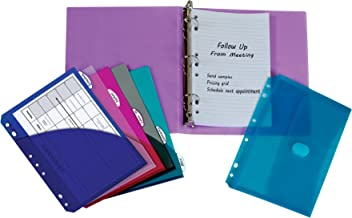 C-Line Mini Binder Starter Kit, Includes Binder, Index Dividers, Filler Paper and Binder Pockets, Colors May Vary, 1 Each (30100)