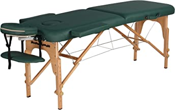 Heaven Massage Ultra lightweight Portable Massage Table - Fits in almost every trunk! Perfect for on the go.. HMTS (GREEN)