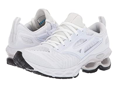 Mizuno Wave Creation 20 Knit (White) Women