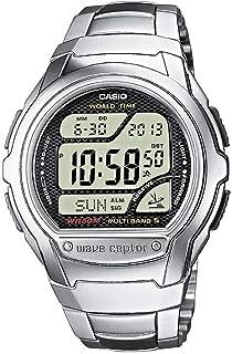 Wv-58Du-1Avef Mens Wave Ceptor Bracelet Digital Watch