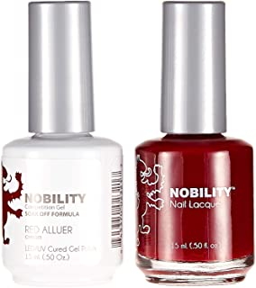 Lechat Nobility Gel Polish & Nail Lacquer, Red Alluer