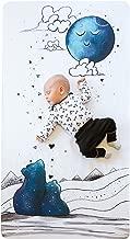 JumpOff Jo Cotton Crib Sheet, Mama Bear Blue