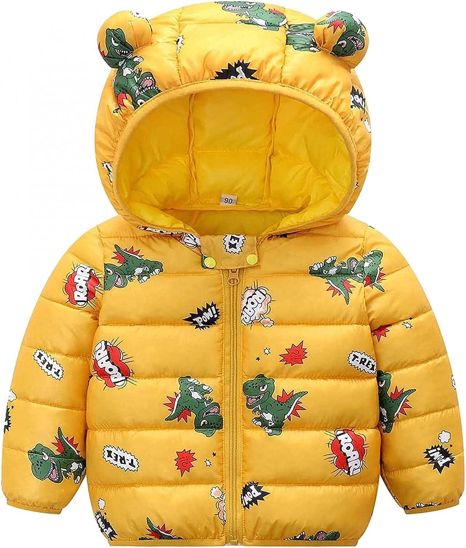 Toddler Japan Maker New Kids Winter Max 78% OFF Coat Solid 3D Ear Bear Padded Jacket Hooded