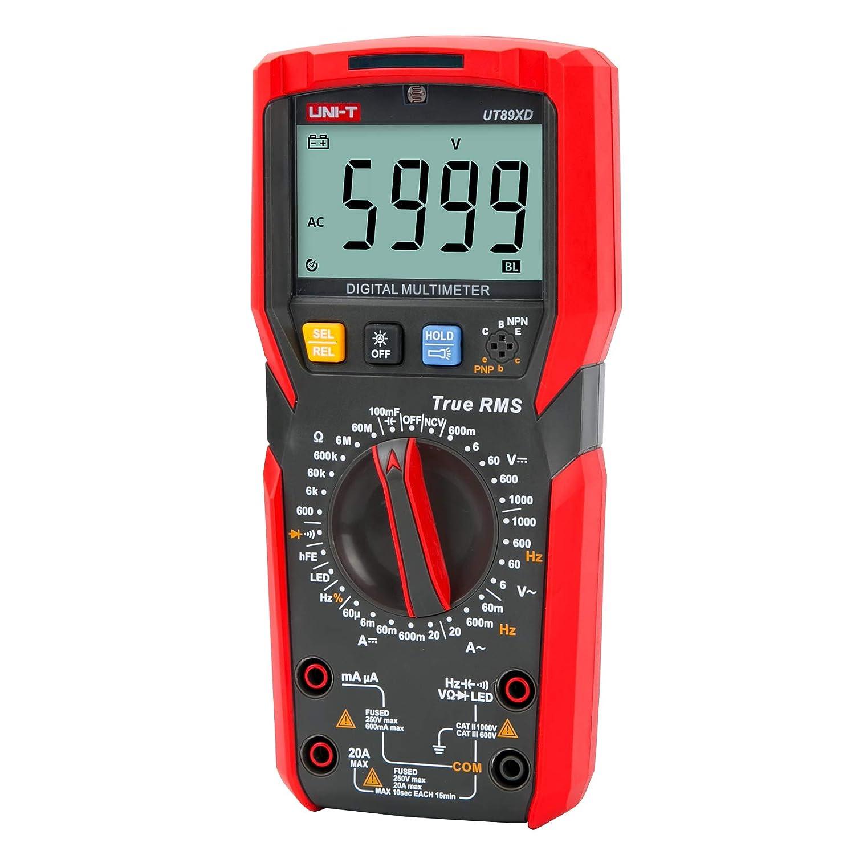 Limited Special Price UNI-T Digital Multi Meter UT89XD 6000 Sine True Super sale Wave Counts RMS