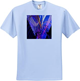 Art Made from The Ceiling Lights on Freemont Street in Vegas T-Shirts 3dRose Jos Fauxtographee Freemont Street Art