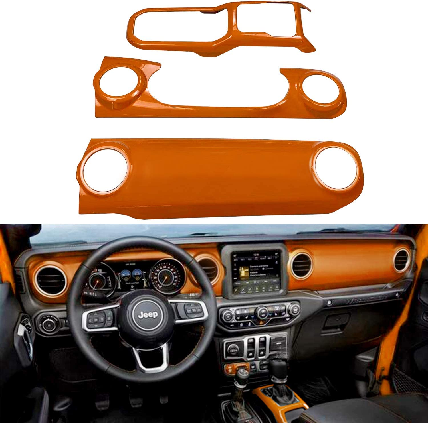 Bolaxin for Jeep Accessories ABS Dashboard Console Center Low price Manufacturer OFFicial shop Panel