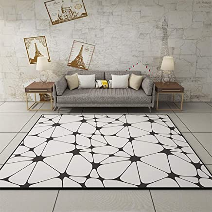 LSDT Nordic Style Geometric Carpet Living Room Sofa Coffee Table Carpet Home Decoration Suitable for Room
