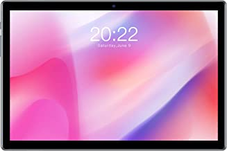 TECLAST P20HD 10.1 Inch Android 10.0 Tablet 8-Core A55 Processor Type C 1920x1200 FHD IPS 7mm Narrow Side 2.5D Touch Scree...