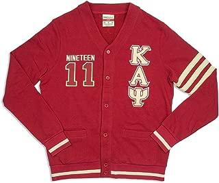Big Boy Headgear Kappa Alpha Psi Fraternity Mens New Cardigan Sweater Crimson Red