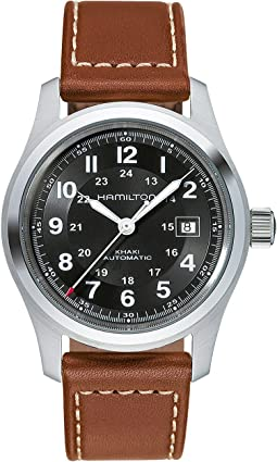 Khaki Field Auto 42mm - H70555533