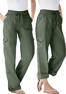 Women's Plus Size Convertible Length Cargo Pant