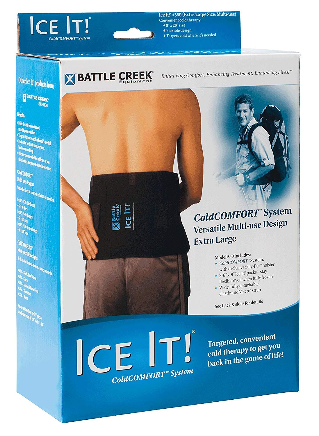 Battle Creek Sales for sale Ice It ® ColdCOMFORT™ Long Beach Mall - Extra-Large System