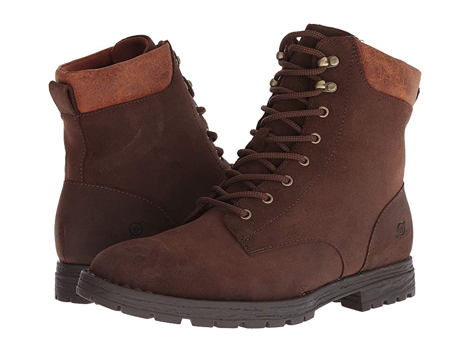 Born Pike Lace (Dark Brown (Siena) Distressed) Men