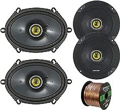Car Speaker Set Combo of 2 Kicker CS654 6.5