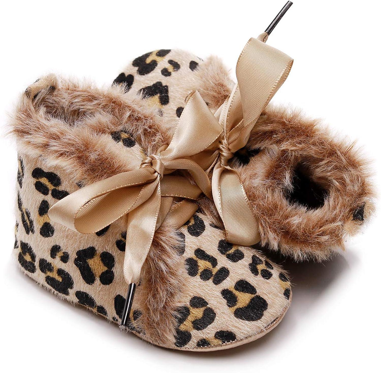 Bebila Winter Toddler Snow Boots Elegant - Boys Girls service up Lace Baby Shoes