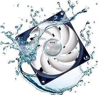 TITAN- 12V DC IP55 Waterproof/Dustproof Case Cooling Fan (120mm (2 Pack))