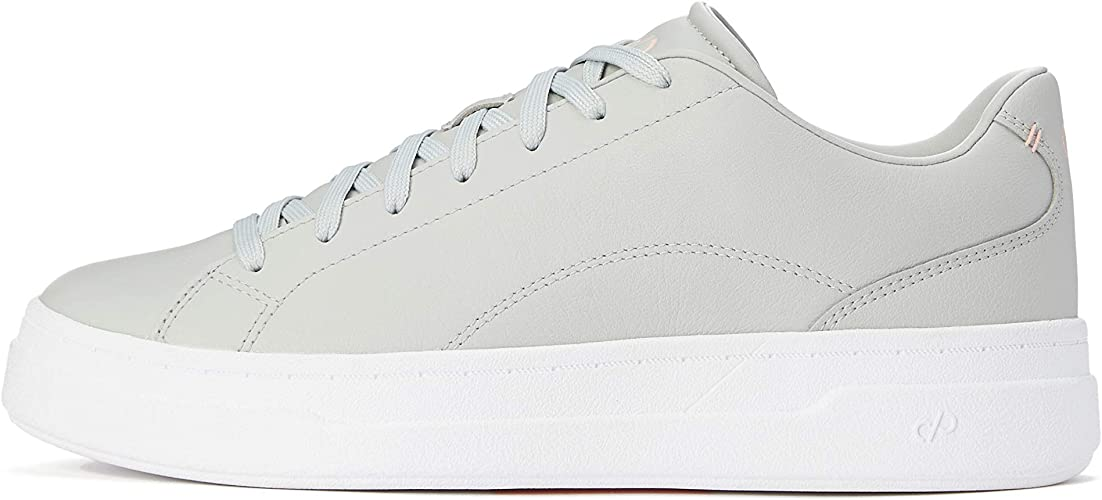 CARE OF by PUMA Women's Leather Platform Court Low-Top Sneakers