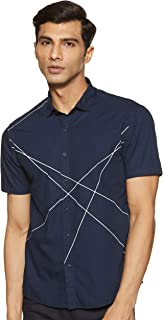 Colt by Unlimited Men's Printed Regular Fit Casual Shirt
