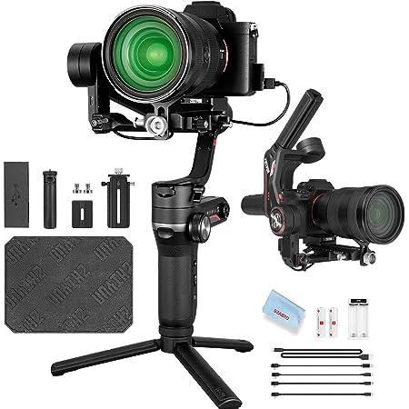 【ZHIYUN正規代理】Zhiyun WEEBILL S ミラーレスカメラに対応した3軸ハンドヘルドジンバルスタビライザー【標準パッケージ】