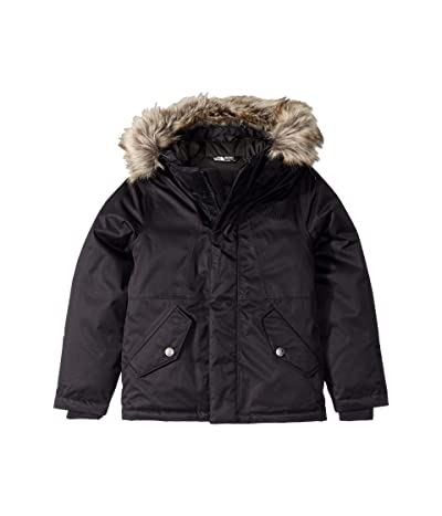 The North Face Kids Greenland Down Parka (Little Kids/Big Kids) (TNF Black) Girl