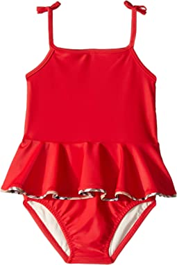 c243ff7326 Poppy Red. 17. Burberry Kids. Ludine ABUCF One-Piece (Infant/Toddler)