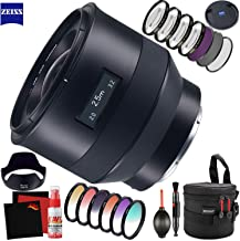 Zeiss Batis 25mm f/2 Lens for Sony E with FLD Filter, CPL Filter, UV Filter - Color Graduate Filter Kit - Close Up Filter Kit and Cleaning Accessories Bundle