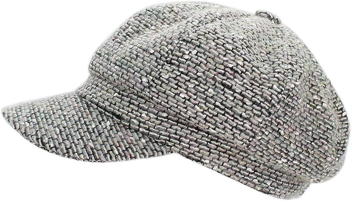 dy/_mode Damen Schirmm/ütze Winter Kappe Ballonm/ütze Barett Cap BM124