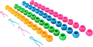 LIN 50 Pack Thread Spool Huggers Preventing Unwinding Thread Tails Complete with 4 Bobbin Saver Buddies