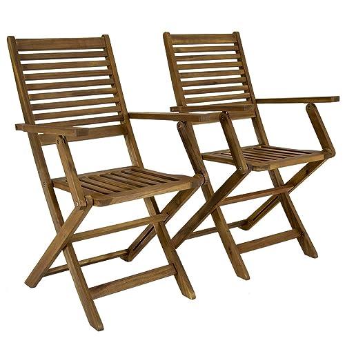 Swell Wooden Garden Chair Amazon Co Uk Ncnpc Chair Design For Home Ncnpcorg