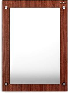 Anikaa Oliva Wall Mirrors/Wall Mounted Dressing Mirror (Walnut)