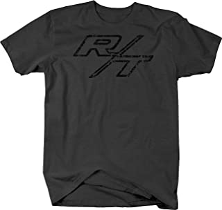Distressed - R/T RT Dodge Mopar Charger Challenger Hemi V8 Tshirt