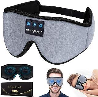 Sleep Mask,3D Upgraded Sleep Headphones Bluetooth Eye Mask for Sleeping, Blindfold Mask for Naps/Yoga/Office/Travel Unisex, Personalised Popular Birthday Gifts Men Mom Dad Her Him Adults Boys Girls