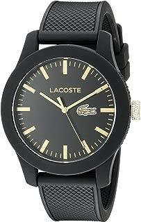 Lacoste 2010818 - Reloj analógico de pulsera para hombre, correa de silicona