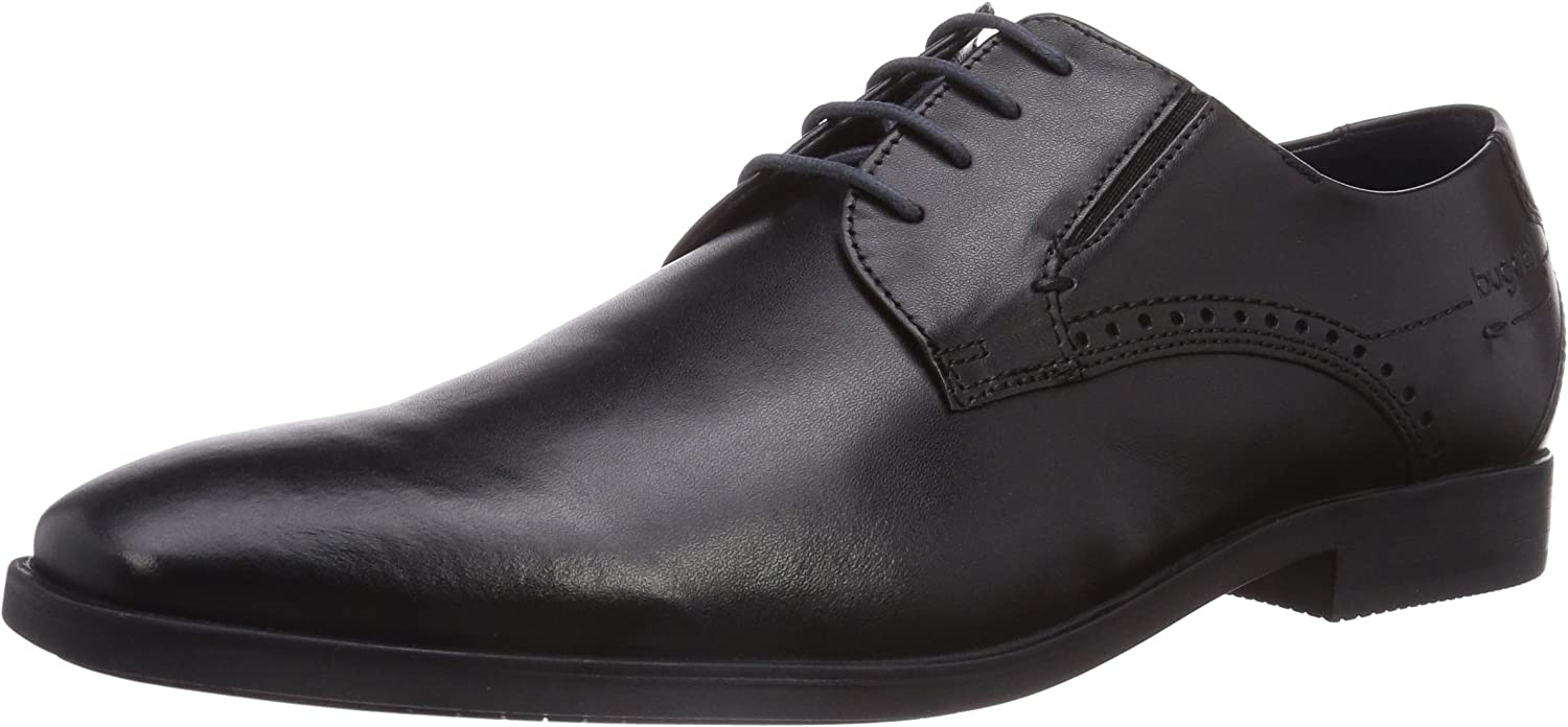 Bugatti city mens-Lace-Up black 650493-1