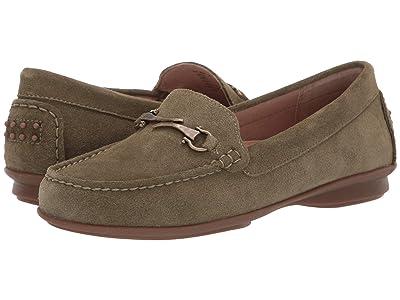 Taos Footwear Bit Moc (Herb Green Suede) Women