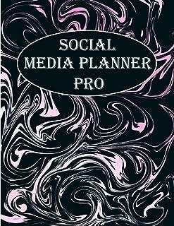 SOCIAL MEDIA PLANNER PRO: media notebook planner, mixed media paper, daily media journal, social media planner, gift idea