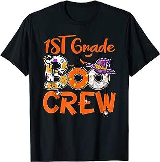 1st Grade Boo Crew T-Shirt Teacher Kids Halloween Gift Shirt T-Shirt