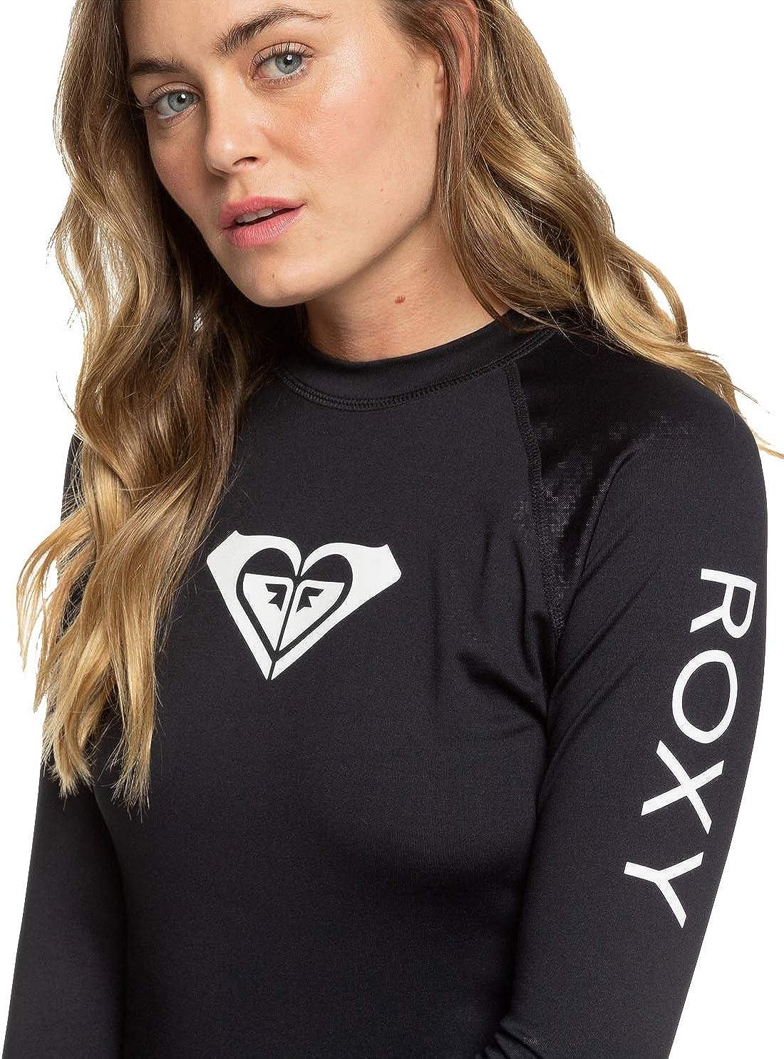 Roxy Women's Whole Hearted Long Sleeve UPF 50 Rashguard
