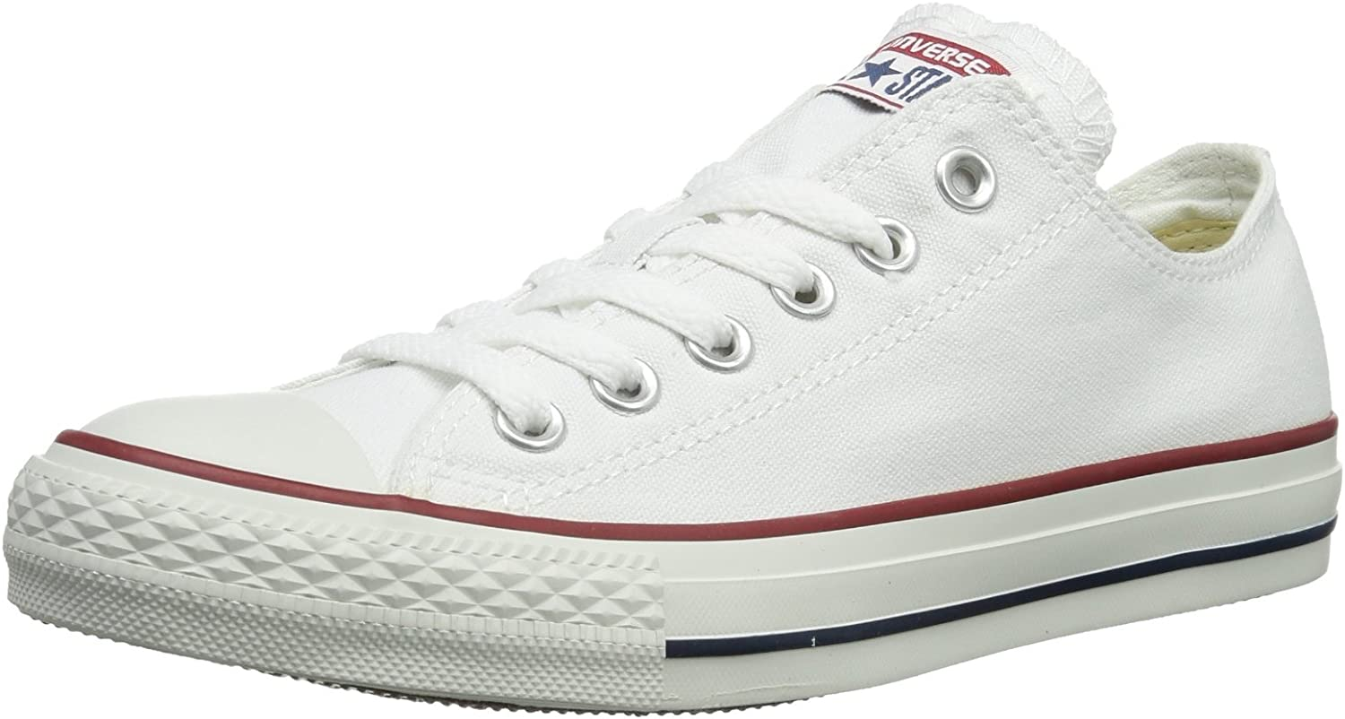 Converse The Chuck Taylor All Star Lo Sneaker (4.5 US Men's  6.5 US Women's, Optical White)