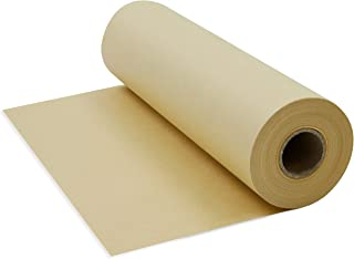 Juvale 100 Feet Brown Kraft Jumbo Paper Roll for Packing, Crafts, Gift Wrapping, and Shipping, 10 x 1200 Inches