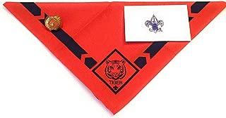 Official BSA Uniform Cub Scout Neckerchief with Slide Apparel