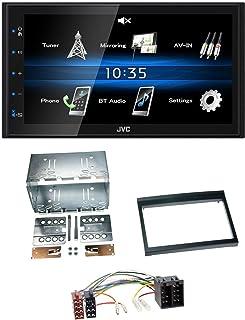 caraudio24 JVC KW M24BT 2DIN Bluetooth MP3 AUX USB Autoradio für Porsche 911, 996 (97 06)