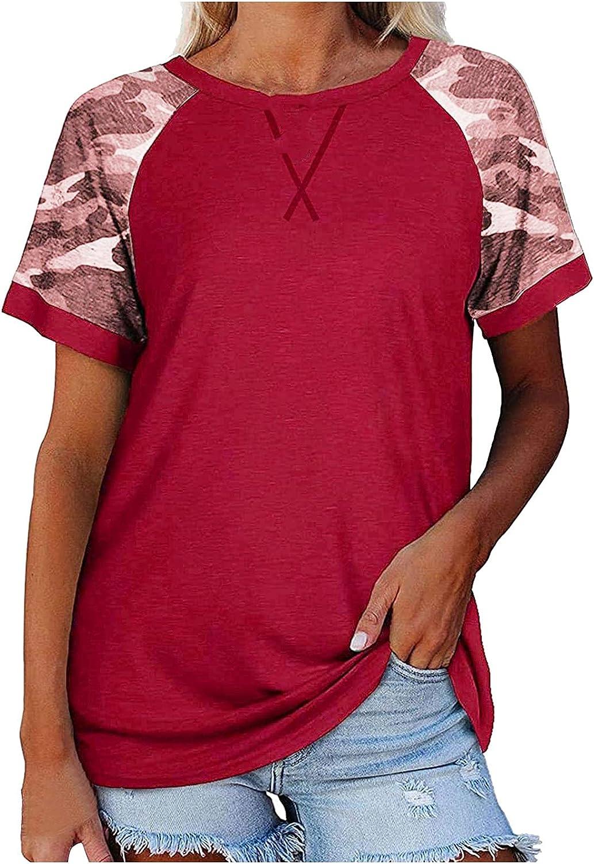 Gemira Raglan Short Sleeve Shirt Women Color Dye Tie Print Limited price Direct store Block