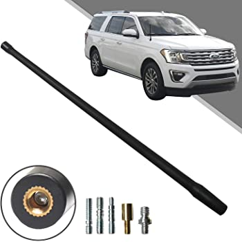 Beneges 13 Inch Flexible Rubber Replacement Antenna Compatible with 2014-2018 Toyota Tundra Trunk Optimized FM//AM Reception.