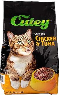 Cutey Cat Food -Chicken and Tuna, 1.5kg