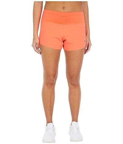 ASICS Road 3.5 Shorts (Flash Coral) Women