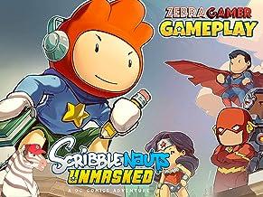 Clip: Scribblenauts Unmasked Gameplay - Zebra Gamer