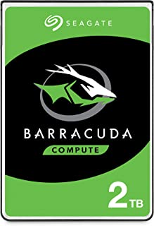 Seagate BarraCuda 2TB Internal Hard Drive HDD – 2.5 Inch SATA 6Gb/s 5400 RPM 128MB Cache for Computer Desktop PC – Frustra...