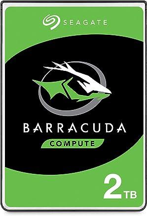 Seagate BarraCuda 2TB Internal Hard Drive HDD – 2.5 Inch SATA 6 Gb/s 5400 RPM 128MB Cache for PC Laptop (ST2000LM015)