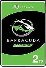 Seagate BarraCuda, 2TB, Disco duro interno, HDD, 2,5 in, SATA 6 Gb/s, 5400 r.p.m., caché de 128 MB para ordenador portátil y PC (ST2000LM015)